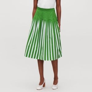 COS Printed Pleated Skirt size 4 US